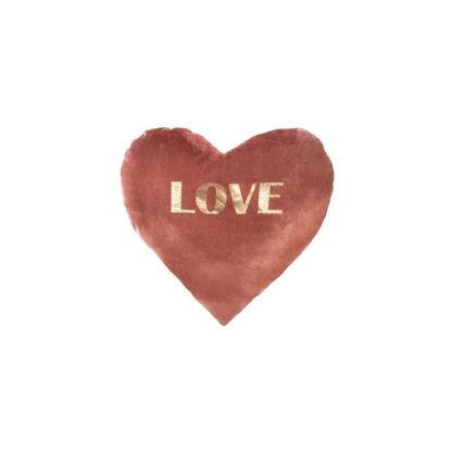 Slika JASTUK OBLIK SRCA LOVE 30X30
